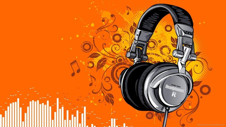 headphones-digital-art